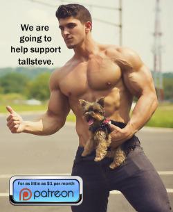 More muscle men http://patreon.com/builtbytallsteve