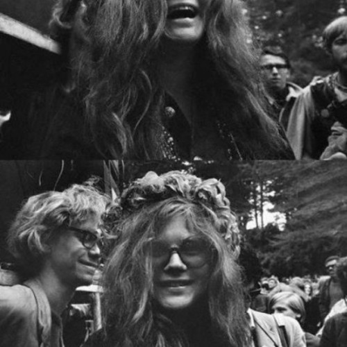 Photo from Woodstock #janis #joplin #lovely <3