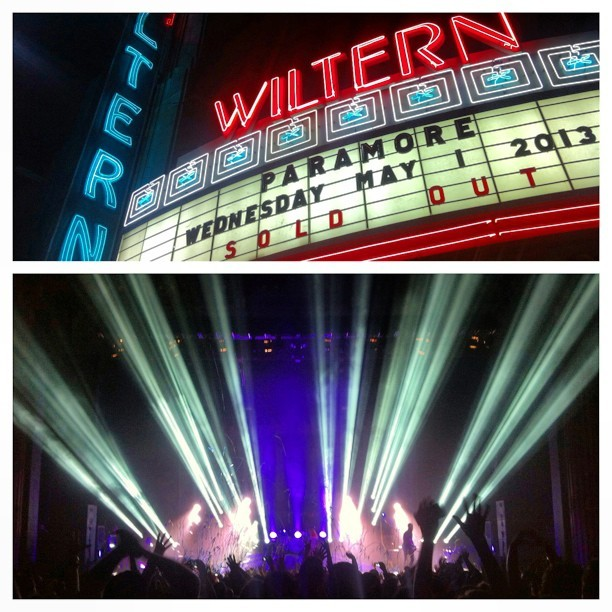Last Night @paramore rocked LA and had everybody singing. #WootWoot