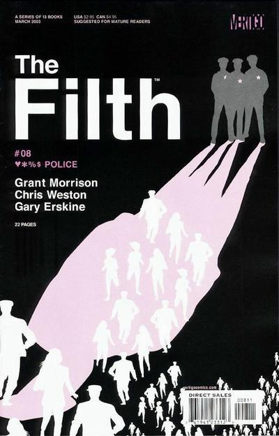part2of3:  iamaliveandyouaredead:  The Filth 8-13 by Grant Morrison, Chris Weston, Gary Erskine  Covers by Carlos Segura