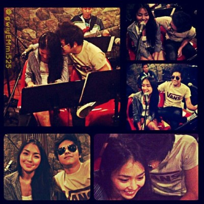 TRUE LOVE EXISTS WITH THESE TWO ♥ :) @bernardokath @agentyellow :) *cto-origpic :) #kathniel #kathrynbernardo #danielpadilla :)