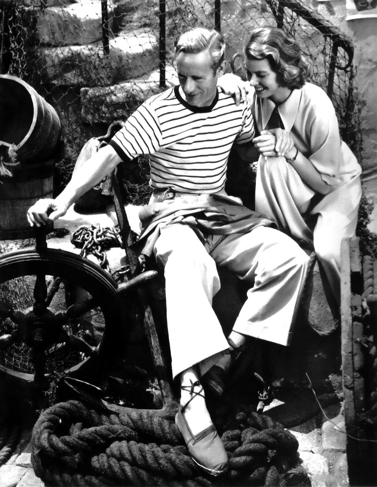 avasgal:  Leslie Howard and Ingrid Bergman in Intermezzo (1939).