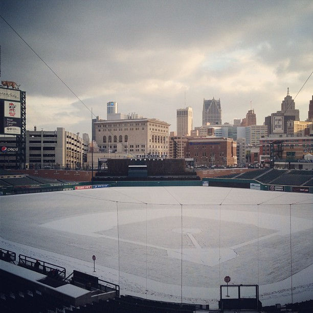 mightyflynn:  Comerica Park Detroit, Michigan Photo by mlbofficial