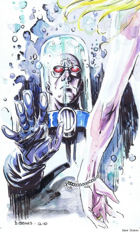 superspacechick:  Mr. Freeze by Dave Stokes
