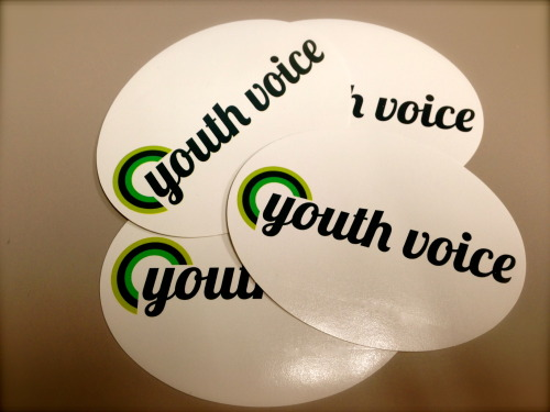 Look what came in this morning!  Awesome new Youth Voice swag!!!! Love love love!