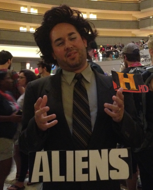 history channel aliens guy | Tumblr