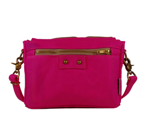 Our spring time color collection is growing!http://nikolettebags.com/lucy-clutch/danni-water-repellent-canvas-zip-front-purse-hot-pink.html