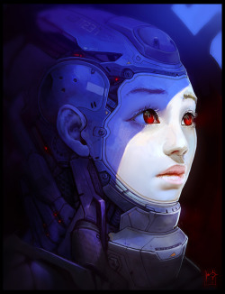 artover9000:  Test Subject by Marc Brunet (Bluefley) blog cghub youtube