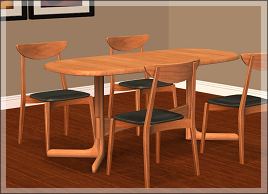 Honeywell shared a chair converted from TS3 to TS2 and a one-tile table over at MTS :D