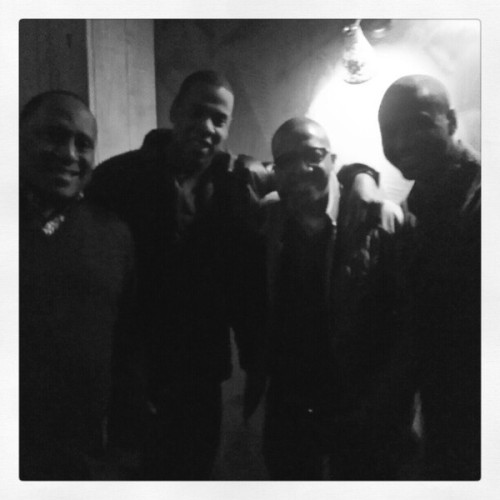 Frank Ski‏: Classic Fam, Frank Ski, Jay Z, Kev Liles, Trey Songz. Happy Birthday Kev (X) (Kevin Liles Surprise BDay Party Classic)