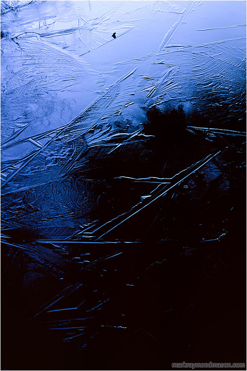 Darkening Ice Patterns by Mark Raymond Mason