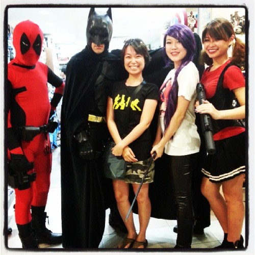 its #FCBD in Gotham City. ^.^