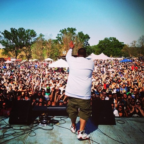 dazeofourlivez:  Berner @berner415 at PoZo Saloon earlier this afternoon 4/20/13 #goodstocktour #taylorgang