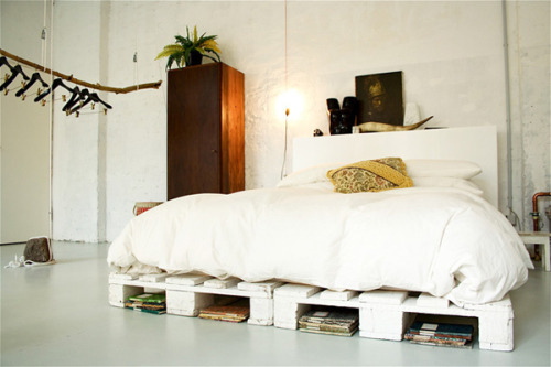 Attention TG: A bed on pallets!
