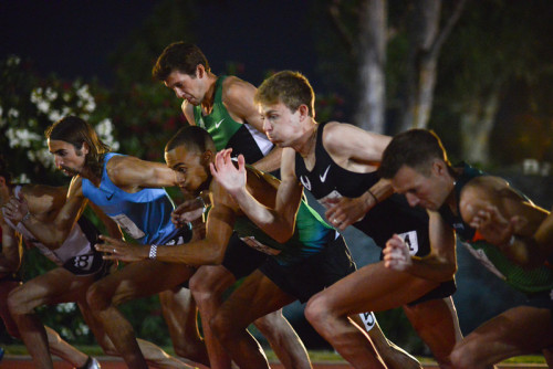 nicerunningday:  1500 start with Rupp, Wheating, McNamara, Brannen, Leer…