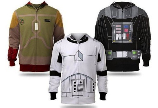 all-bubblegums-pop:  Star Wars Hoodies