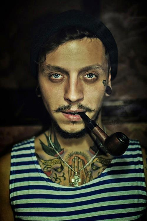 """ Pipe Smoking Sailor """