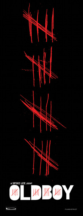 First poster for Spike Lee's Oldboy The first poster has arrived online for Spike Lee's Oldboy remake, and as you might expect, it's a suitably grisly affair…