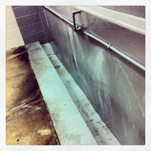 #ThrowbackTuesday the bathroom here is nuts! #HBJStadium #FHSvsPHS #GreatGame