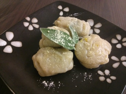 I am back! Check out new recipe for vegan butternut squash/pumpkin ravioli (although mine look more like dumplings but hopefully you can do a better job at making there) New recipes will be appearing every week And dont forget you can also submit your own recipes!! check out http://kennieskitchen.com