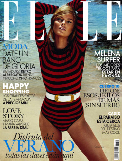 pretaportre:  Cristina Tosio by Xavi Gordo for Elle Spain, June 2013.