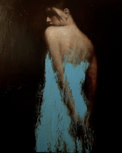 The Gathering, oil on canvas, 55ins x 43ins. £22,000 | Mark Demsteader
