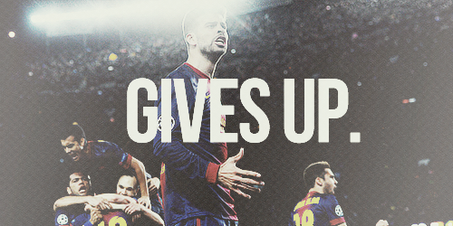 """If we lose, we will continue to be the best team in the world. If we win, we will be eternal."""