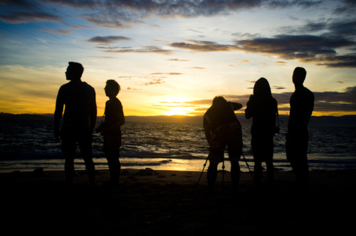 The This Is Manila team marooned on a deserted island in Dasol Bay. January 6,2013|Burong Buwaya Island, Pangasinan