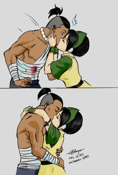 sokka and toph relationship goals