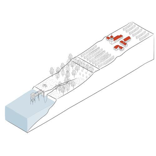 Médoc 2/3 - Le fleuve #france#drawingbook#architecture