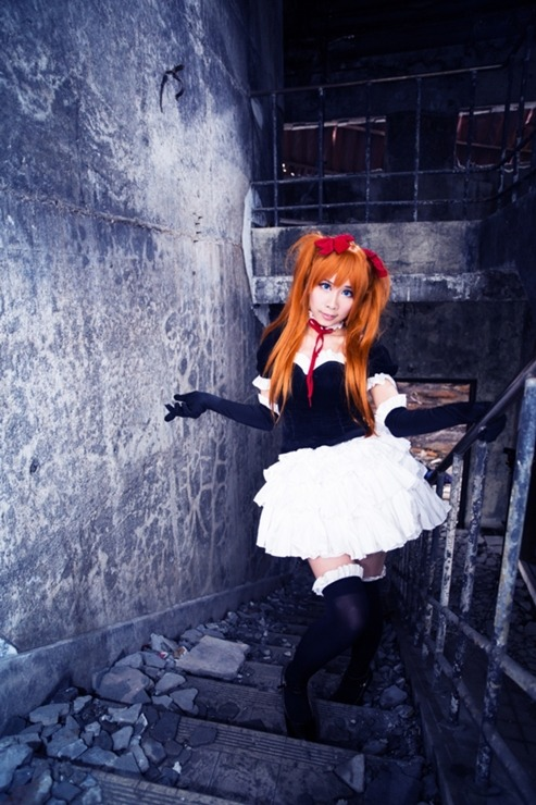 Baby Oranji as Asuka