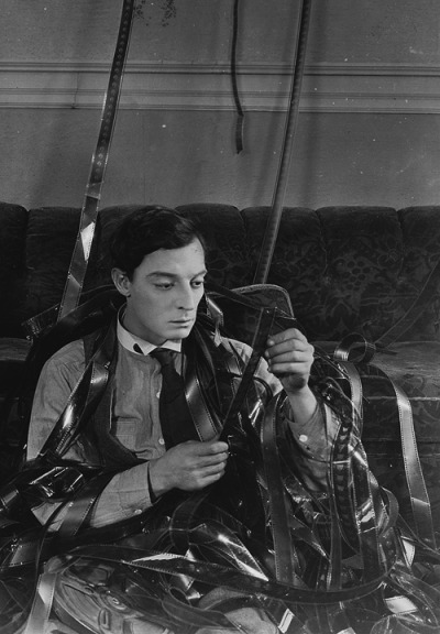 deforest:  Buster Keaton in Sherlock, Jr. (1924)