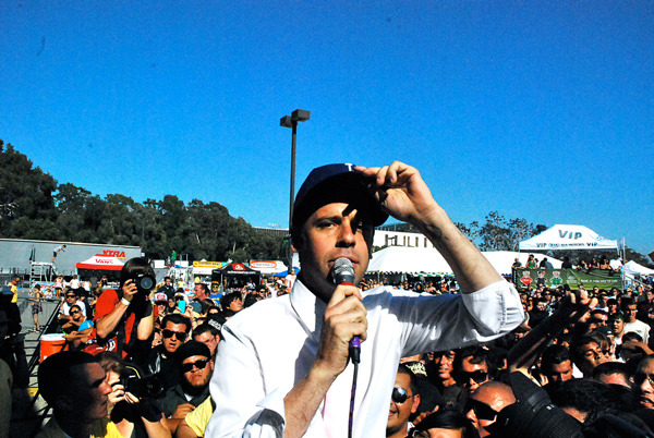 Greg Attonito at the 2003 Warped Tour