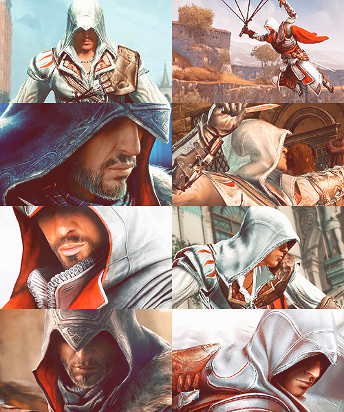 Assassin's Creed - Ezio + red