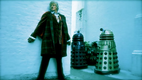 Vale Raymond Cusick (1928-2013) - Designer of the Dalek. Terry Nation made millions out of the Daleks but the staff BBC designer who actually interpreted Terry's words to create one of the most enduring designs of popular culture was paid a £50 bonus by the BBC for his efforts. The Daleks are arguable the first instance of mass media marketing. They were everywhere in the UK in the 1960s. Dalek toys, tea-towels, costumes, games, books, comics, jelly-moulds etc. Ray was a regular on the Doctor Who convention circuit and always had time to speak to fans of the show. A humble man.  Thank you Ray.