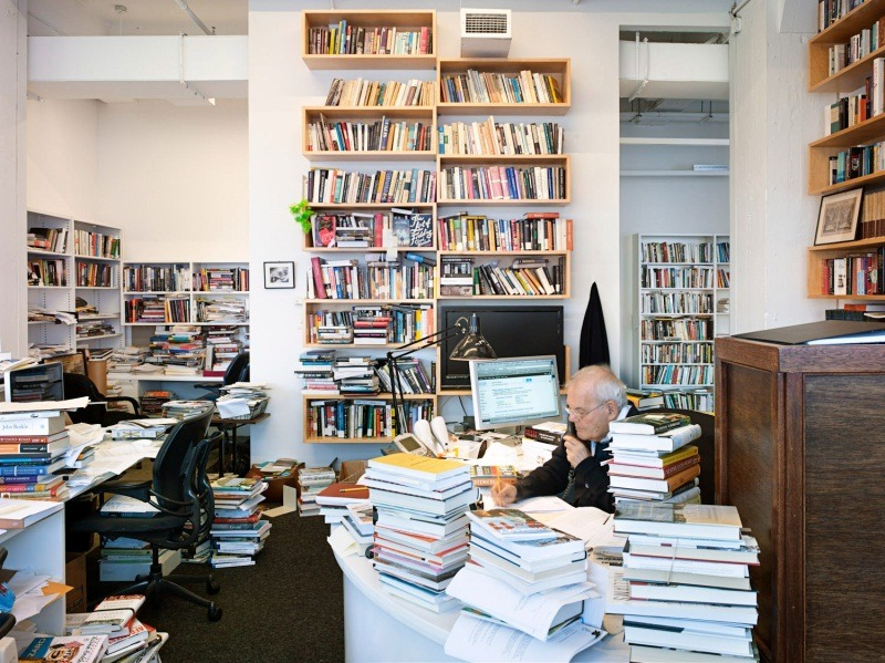 Robert Silvers, editor of The New York Review of Books