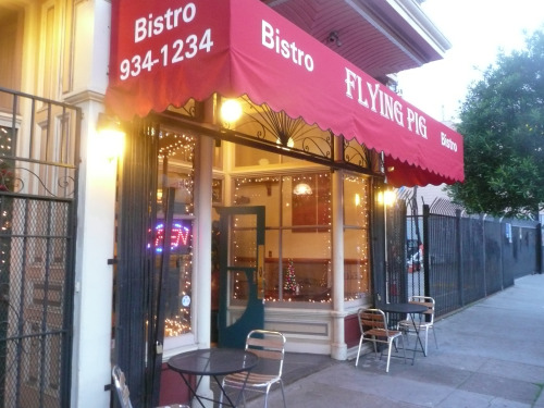 Wednesdays: Brand New Open Mic at The Flying Pig @ 433 South Van Ness Ave. 8-10pm. Free.