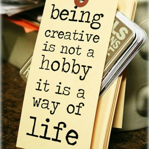 being creative (via Writing)