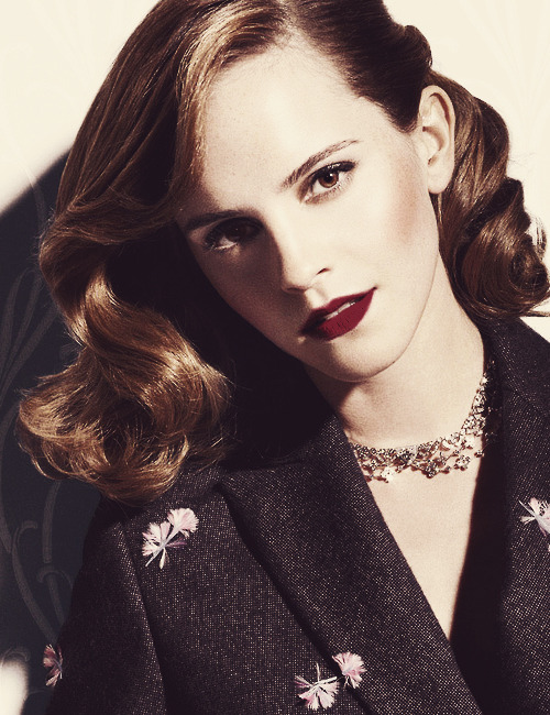 Emma Watson for W Magazine (June 2013)