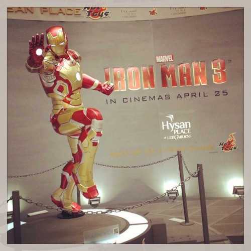 #ironman #ironman3 #ironmansuit #statue #lifesize  (at The Lee Gardens 利園)