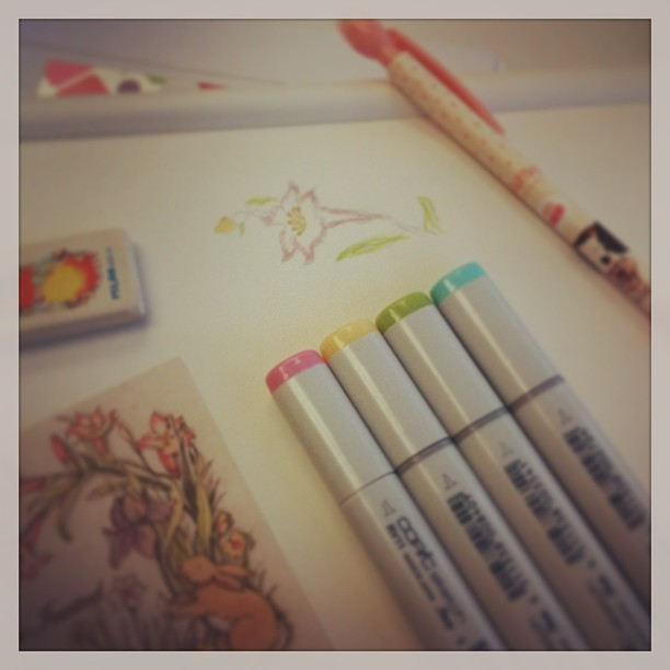 Copic party :)