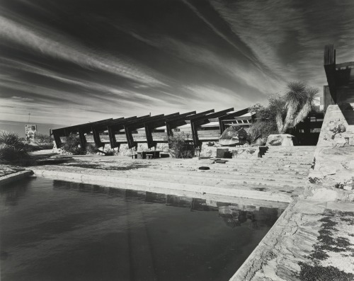 Taliesin West, Frank Lloyd Wright, Scottsdale, Arizona, 1951 — Ezra Stoller