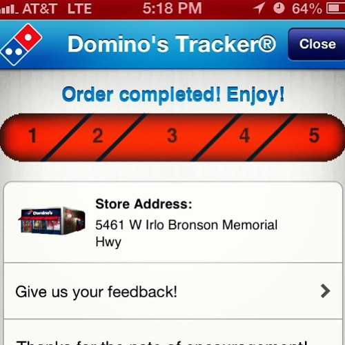 Love this app!!!! #dominos #7.99pizzamonthruthurs