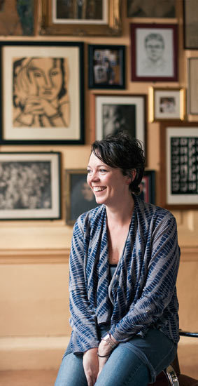 "Q&A with Olivia Colman What is your favourite smell?First smell of spring and my children's faces. Which words do you most overuse?""Um."" What is your favourite book?The Time Traveller's Wife, by Audrey Niffenegger. What is your guiltiest pleasure?Booze. My favourite is gin, tonic and elderflower cordial. It's summer in a glass. What does love feel like?Proper love should be utterly supportive and comfortable, and it feels like a raincoat or a jacket potato."