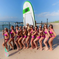 #supyoga girls enjoying the new #ROXYoutdoorfitness gear and Rickaroons. @roxy @404sup @beoceanminded  #roxydares