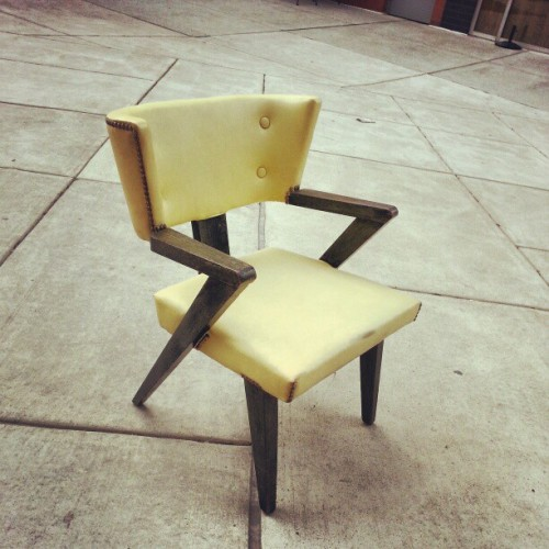 thewordunheard:  jinxedstore:  Modern chair $38 (at Jinxed Clothing)  STFU with this perfection. If I had a house with a basement, the basement would be full of crazy mod chairs.  This blog is my basement full of crazy chairs