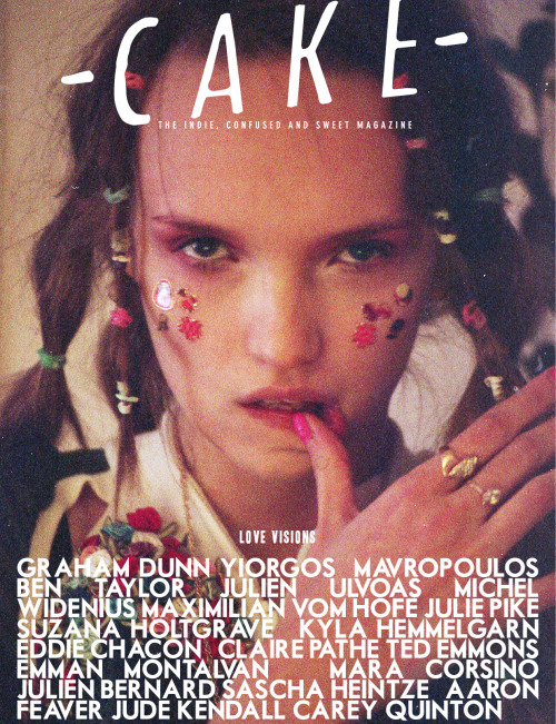 cake-mag:  LOVE VISIONS ISSUE | COMING SOON  One of mine with the stunning Asia at M+P models