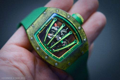 The $620,000 Richard Mille RM59-01.  This is no joke.