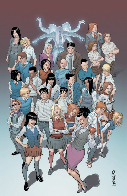A DOUBLE-SIZED SEASON PREMIERE FOR MORNING GLORIES MORNING GLORIES #27 launches the second season of Nick Spencer's and Joe Eisma's supernatural mystery in spectacular fashion, with a double-sized issue and eight covers! In addition to series artist Eisma, Jenny Frison (REVIVAL covers), Rob Guillory (CHEW), Shawn Martinbrough (THIEF OF THIEVES), Jamie McKelvie (Young Avengers, PHONOGRAM), Nick Pitarra (THE MANHATTAN PROJECTS), Emma Rios (upcoming PRETTY DEADLY), and Christian Ward (THE INFINITE VACATION) supply variant covers. Be sure to let your retailer know which covers you want!
