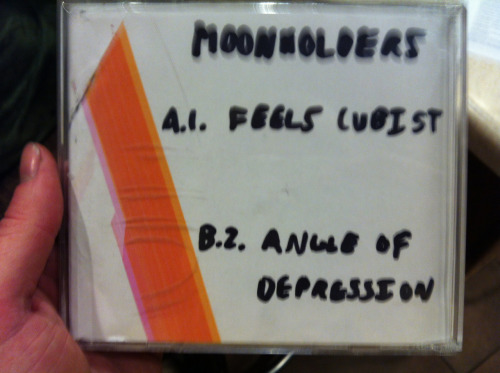 dangerous-shanegerous:  Feels Cubist/Angle Of Depression A bootleg to submit for the Zia Records local music contest thingie. Better take good care of it as: A. It'll be worth something one day. B. I'll come and get ya if you don't. (B most likely won't happen)